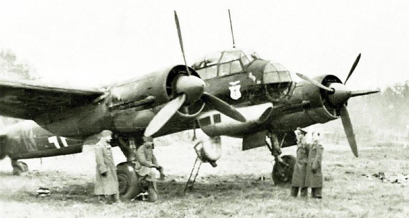 Учебный бомбардировщик. 1943 г.