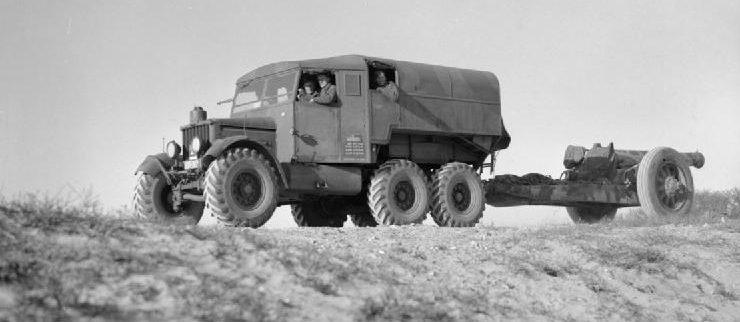 8-дюймовая гаубица 1-го тяжелого полка под Кале. 12 января 1940 г.