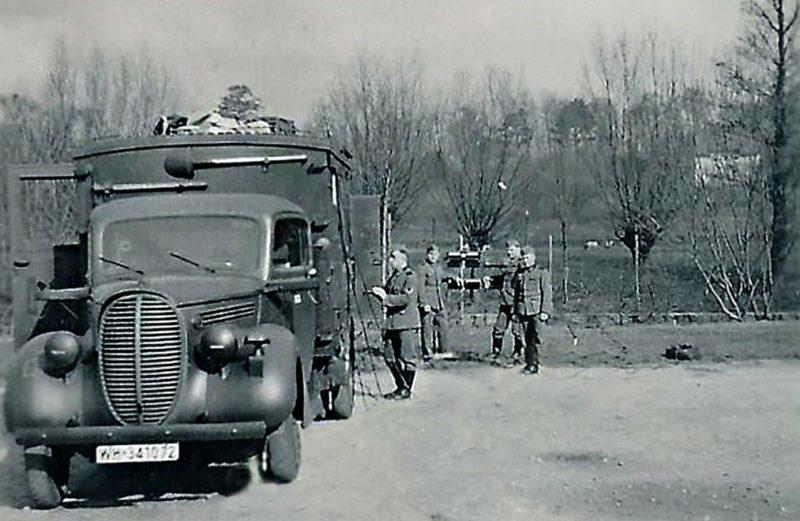 Пригород Кенигсберга. 1943 г.