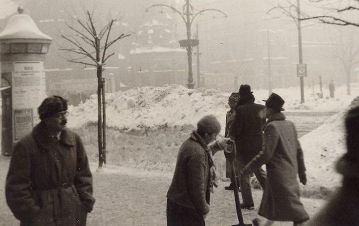 Улицы Кракова. 1942 г.