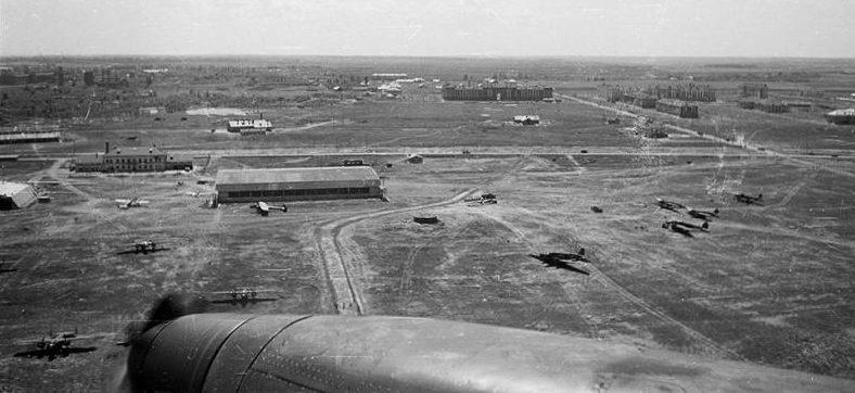 Полтавский аэродром. 1942 г.