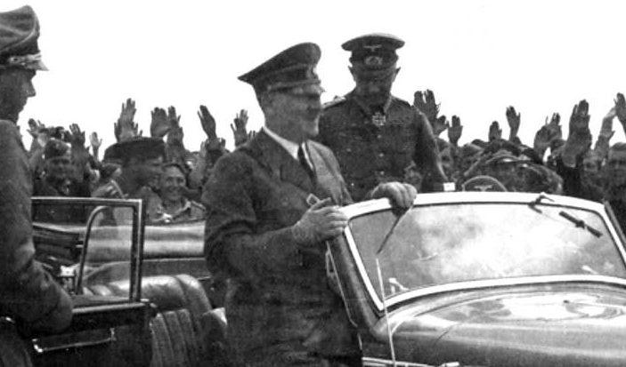 Гитлер в Полтаве. 1 июня 1942 г.