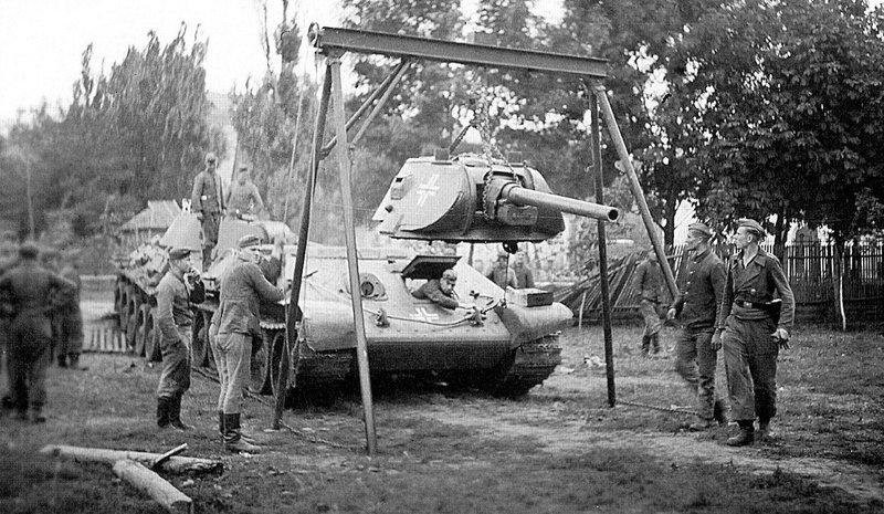 Т-34 на службе Вермахта. 1943 г.