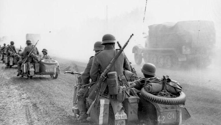 Наступление немецких войск в Украине. Июнь 1941 г.