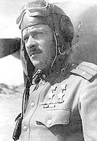 Дважды Герой Советского Союза майор Покрышев. 1943 г.