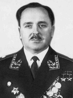 Генерал-майор авиации Мазуренко. 1970 г.