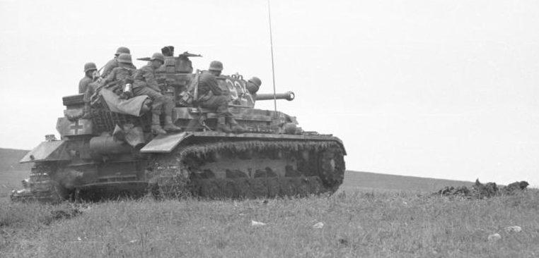 Немецкие войска под Керчью. Май 1942 г.