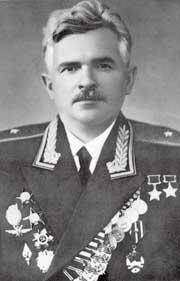 Генерал-майор авиации Покрышев. 1956 г.