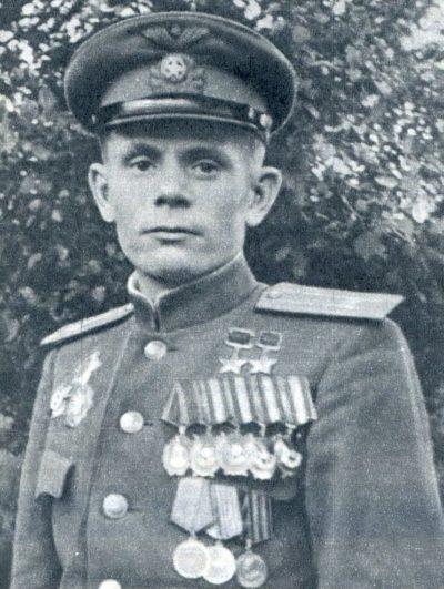 Дважды Герой Советского Союза Паршин Георгий Михайлович (23.05.1916-13.03.1956)