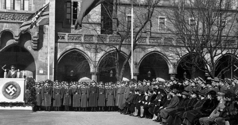 Торжества по случаю «Дня павших солдат». Март 1943 г.