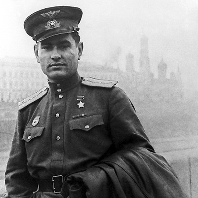 Капитан Маресьев. 1944 г.