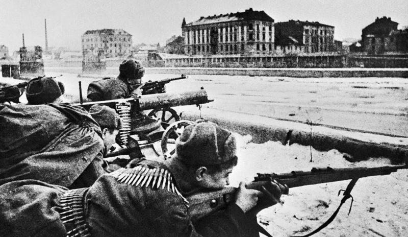 Бой за Краков. Январь 1945 г.