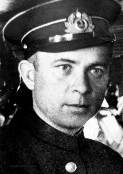 Александр Маринеско. 1940 г.