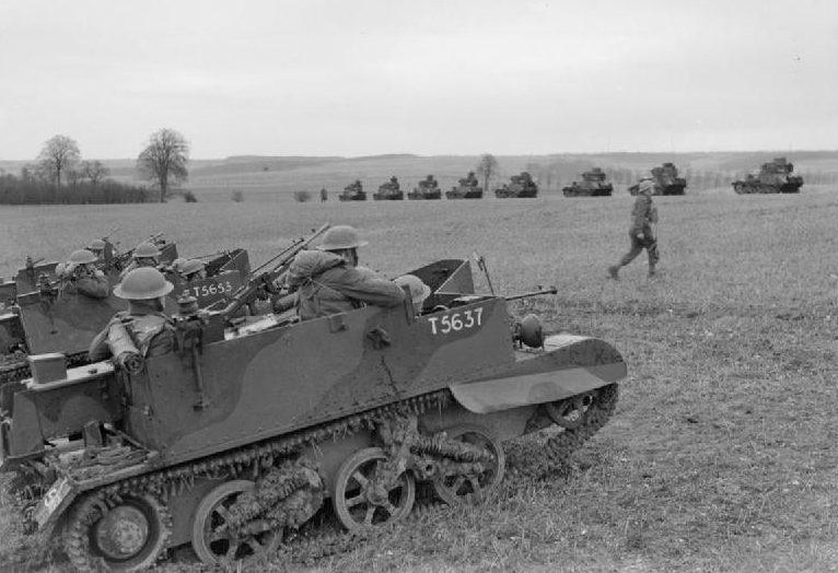Легкие танки Mk-VI. 19 марта 1940 г.
