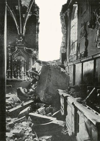 Единственное разрушенное здание в Кракове за время войны. 1945 г.