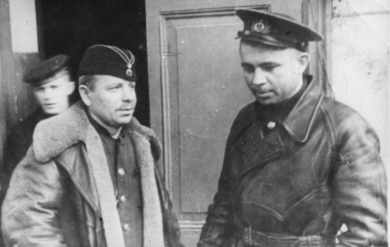 Маринеско на базе подлодок. 1942 г.