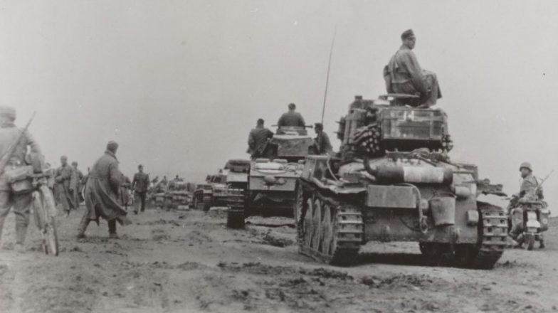 Немецкие танки под Керчью. Июнь 1942 г.