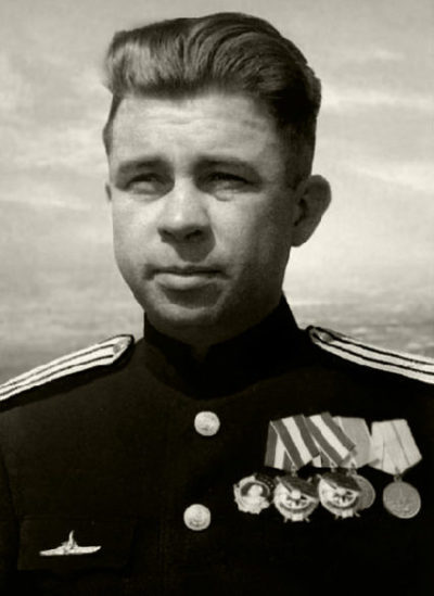 Капитан 1-го ранга Маринеско. 1945 г.