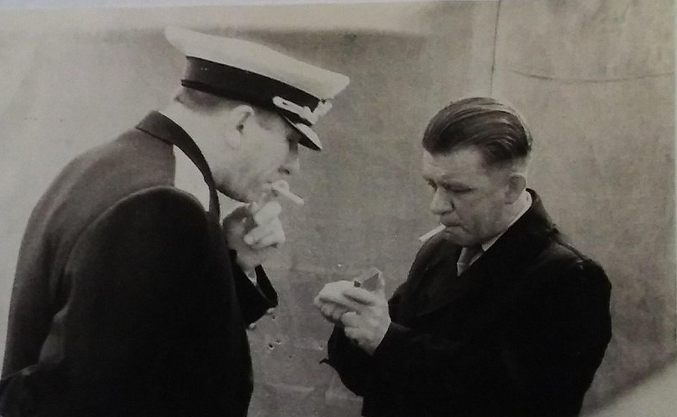 Маринеско и адмирал В.Ф. Трибуц. Ленинград 1958 г.