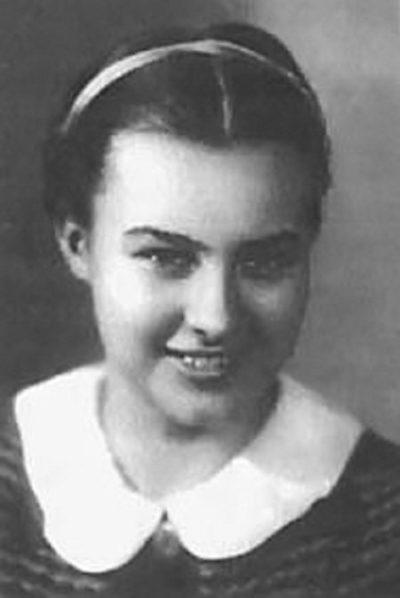Наталья Меклин. 1940 г.