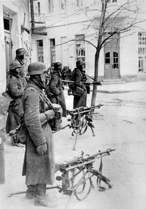 Немцы в Феодосии. 1942 г.