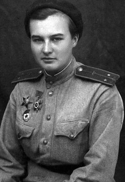Лейтенант Меклин. 1945 г.