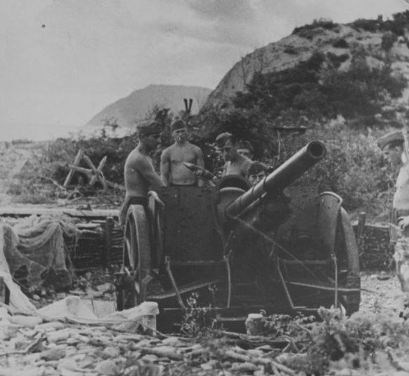 Немцы под Новороссийском. Сентябрь 1942 г.
