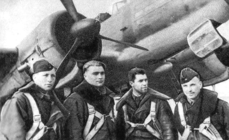 Молодчий с экипажем. 1942 г.