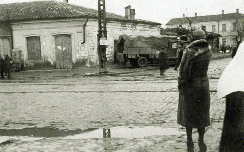 Симферополь в оккупации. 1942 г.