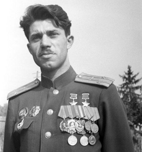 Подполковник Молодчий. 1948 г.