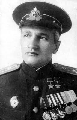 Дважды Герой Советского Союза майор Раков. 1946 г.