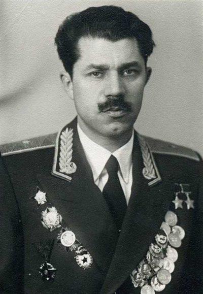 Генерал-майор авиации. Молодчий. 1955 г.