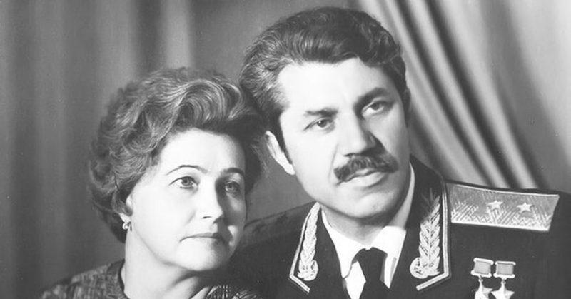 Молодчий с супругой. 1965 г.