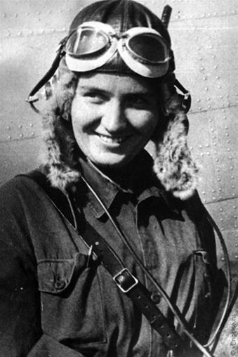 Марина Раскова. 1937 г.