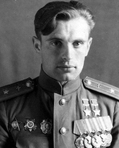 Майор Мыхлик. 1945 г.