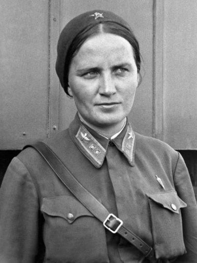 Раскова Марина. 1938 г.