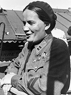 Раскова. 1941 г.