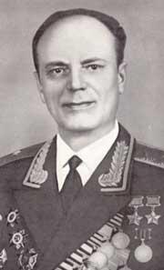 Генерал-майор авиации Недбайло. 1968 г.