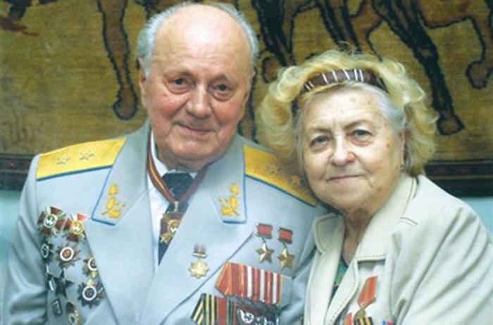 Супруги Недбайло. 1995 г.