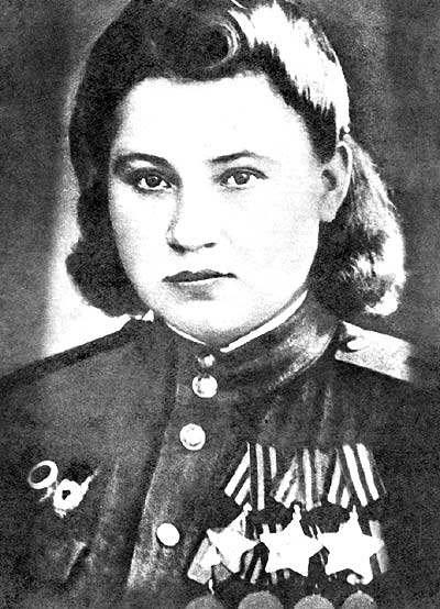 Полный кавалер ордена «Слава» Нечепорукова. 1946 г.