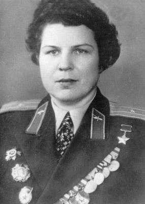 Евдокия Никулина. 1960 г.