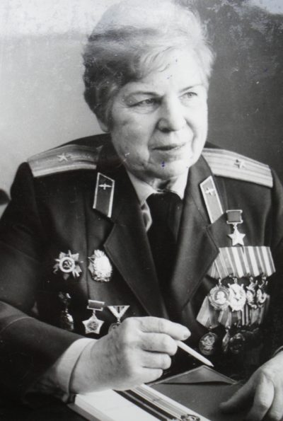 Евдокия Никулина. 1985 г.