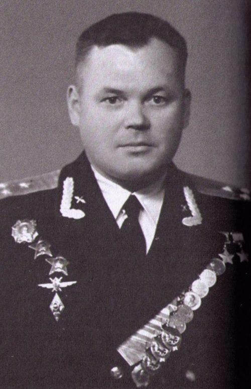 Полковник Речкалов. 1952 г.
