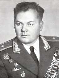 Генерал-майор авиации Речкалов. 1958 г.