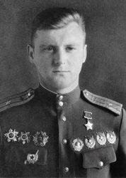Герой Советского Союза майор Одинцов. 1944 г.