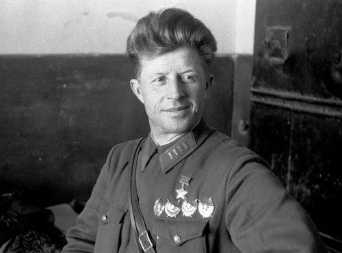 Герой Советского Союза Родимцев. 1940 г.