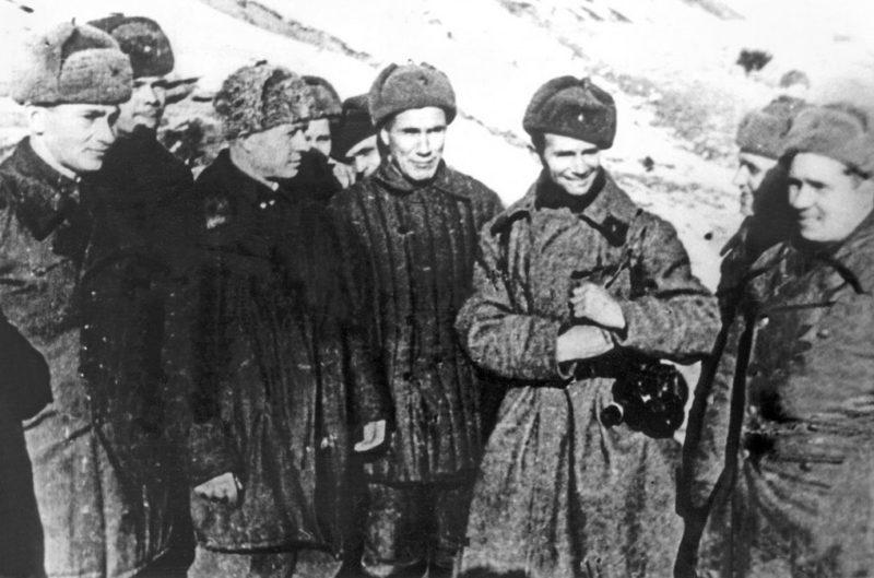 Родимцев на фронте. 1942 г.