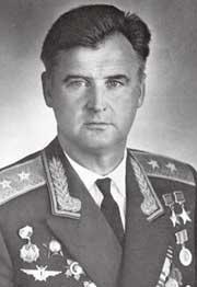 Генерал-лейтенант Одинцов. 1975 г.