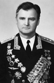 Дважды Герой Советского Союза генерал-полковник Одинцов. 1985 г.