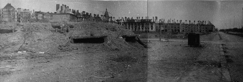Немецкие ДОТы. Май 1945 г.